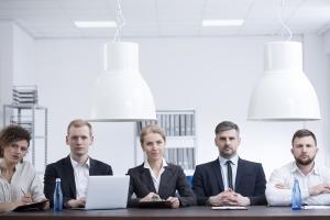 Stille am Ende der Sales-Präsentation